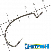 LW Power Offset Hook Офсетные крючки Hitfish LW Power Offset Hook #3/0 (7шт в уп)