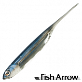 Flash J 3'' SW Мягкие приманки Fish Arrow Flash J 3'' SW #105 Maiwashi/Silver (5 шт в уп)