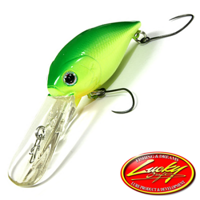 Magnum Cra-Pea D2R Воблер Lucky Craft Magnum Cra-Pea D2R 7,3gr #0019 Lime Chart