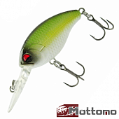 Crasher 60F Воблер Mottomo Crasher 60F 5,5gr #Ghost Lime