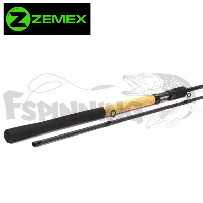 Iron Feeder Фидер Zemex Iron Flat Method Feeder 3.90m/140gr