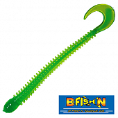 Ringworm 4'' Мягкие приманки B Fish & Tackle Ringworm 4'' #Chartreuse Green Core (12 шт в уп)