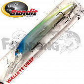 Walleye Deep Воблер Bandit Walleye Deep 17,7gr/8,1m #2A41 Blue Clown