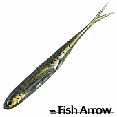 Flash J Split 3'' Мягкие приманки Fish Arrow Flash J Split 3'' #02 Wm/Silver (7 шт в уп)