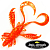 Virtual Craw 3,6'' Мягкие приманки Bait Breath Virtual Craw 3,6'' #S839 (8шт в уп)