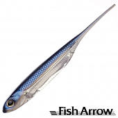Flash J 5'' Мягкие приманки Fish Arrow Flash J 5'' #04 Problue/Silver (4 шт в уп)