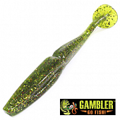 Big EZ Мягкие приманки Gambler Big EZ 5'' #Lane Toad (5 шт в уп)