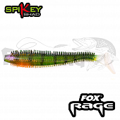 Rage Spikey Shad 3,5''/90mm Мягкие приманки Fox Rage Spikey Shad Bulk 3,5''/90mm #Stickleback (1 шт в уп)