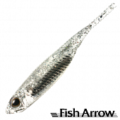 Flash J 1'' SW Мягкие приманки Fish Arrow Flash J 1'' SW #111 Clear Holo/Silver (5 шт в уп)