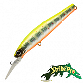 Solid Tail Deep 66S JS-256 Воблер Strike Pro Solid Tail Deep 66S 7,2gr JS-256#A190ES