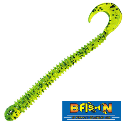 Ringworm 4'' Мягкие приманки B Fish & Tackle Ringworm 4'' #Chartreuse Pepper (12 шт в уп)