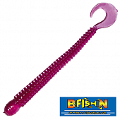 Ringworm 4'' Мягкие приманки B Fish & Tackle Ringworm 4'' #Purple (12 шт в уп)
