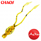 Chaos 2,8'' Мягкие приманки Aiko Chaos 2,8'' #015 motor oil fish smell (8шт в уп)