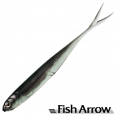 Flash J Split 4'' SW Мягкие приманки Fish Arrow Flash J Split 4'' SW #104 Katakuchi Iwashi/Silver (5 шт в уп)