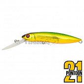 Moby Dick 120F-DR Воблер Pontoon 21 Moby Dick 120F-DR 31,8gr #036