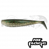 Rage Zander Pro Shad 4''/100mm Мягкие приманки Fox Rage Zander Pro Shad Bulk 4''/100mm #ghost green (1шт в уп)