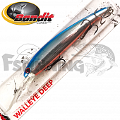Walleye Deep Воблер Bandit Walleye Deep 17,7gr/8,1m #2D96 Blueback Original