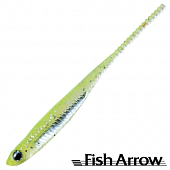 Flash J 1,5'' Slim SW Мягкие приманки Fish Arrow Flash J 1,5'' Slim SW #102 Chart/Silver (5 шт в уп)