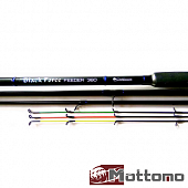Black Force Feeder Фидерное удилище Mottomo Black Force Feeder 3,6m/180gr MPFF-360/180